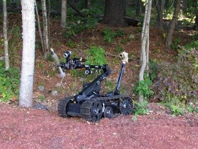 New TALON robot introduced by QinetiQ