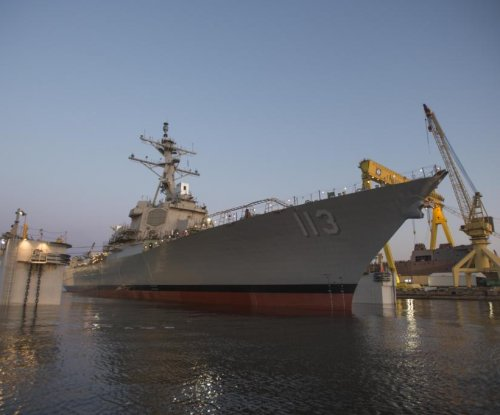 Future USS John Finn completes alpha sea trials