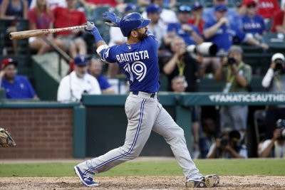Jose Bautista's three-run blast guides Toronto Blue Jays past Los Angeles Angels