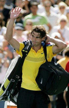 Nadal to have injured knee examined