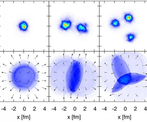 Ion collider produces droplets of primordial goo