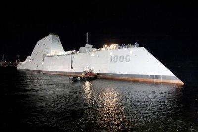 Bath Iron Works Christens USS Michael Monsoor   UPI.com