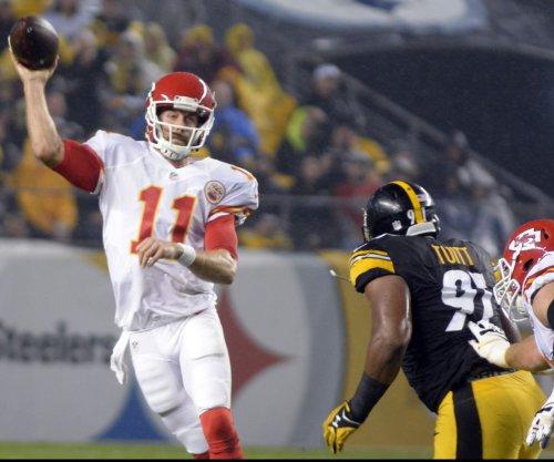 Kansas City Chiefs' QB Alex Smith to start against Carolina Panthers