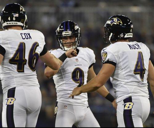 Streak ends for Baltimore Ravens' Justin Tucker