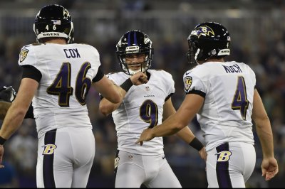 Streak ends for Baltimore Ravens' Justin Tucker