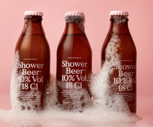 Swedish brewery's 'Shower Beer' designed for shower drinking -- and conditioning