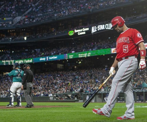 Angels start road trip with stop in Kansas City for makeup game