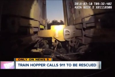 Ohio train hoppers call 911 for help when train fails to slow