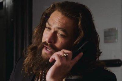 Jason Momoa takes over NBC's telephones in 'SNL' promo