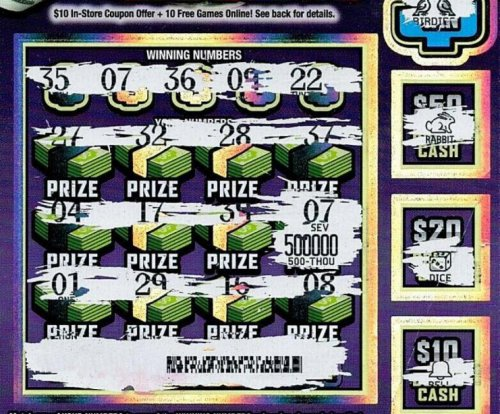 Michigan man's $500,000 lottery ticket nearly ended up in trash
