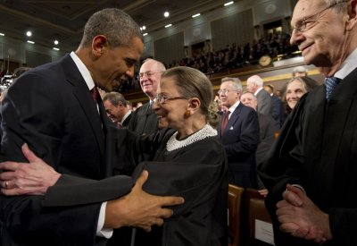 U.S. Justice Ginsburg to officiate at same-sex marriage