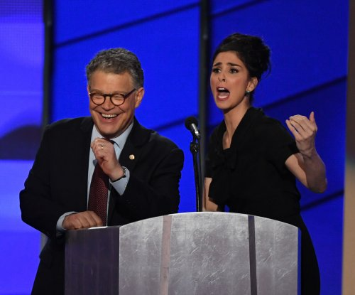 Sarah Silverman, Al Franken share unscripted moment of unity at DNC