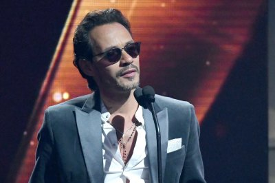 Salsa star Marc Anthony performing at El Clásico Miami