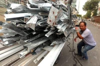 Trump plans to impose tariffs up to 81 percent on Chinese aluminum