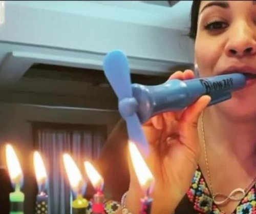 Virginia dad invents spittle-free way to blow out birthday candles