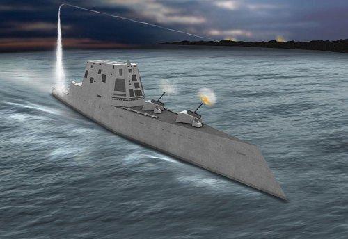 New Zumwalt-class destroyer 79 percent complete, Navy says