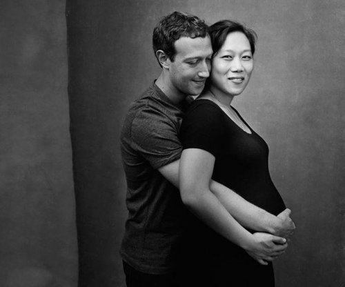 Mark Zuckerberg shares photo of pregnant wife Priscilla
