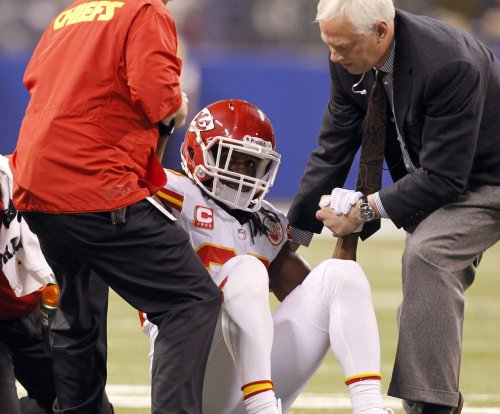 Jamaal Charles sports slimmer leg in return to Kansas City Chiefs