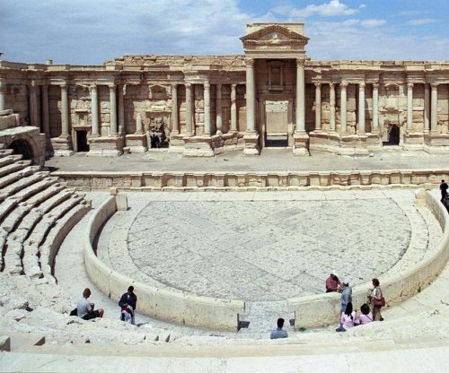 Islamic State destroys ancient amphitheater at Palmyra, Syria