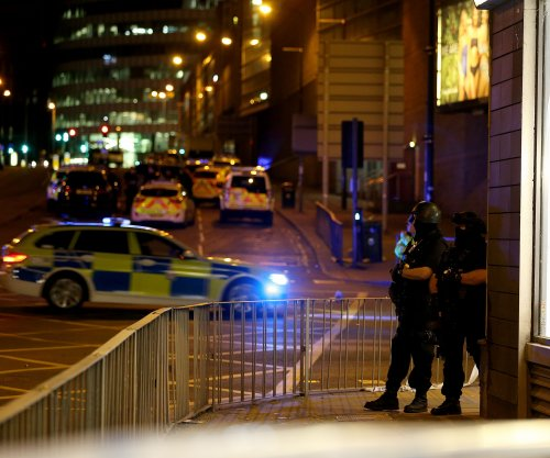 British police respond to reports of explosion at Ariana Grande concert