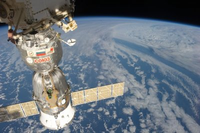 Hole responsible for space station leak caused by drill, not meteorite, Russia says