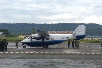M28 transport plane makes transatlantic flight from Poland to Ecuadorian Army
