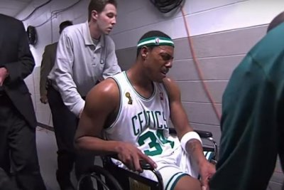 Paul Pierce reveals truth about wheelchair incident in 2008 NBA Finals