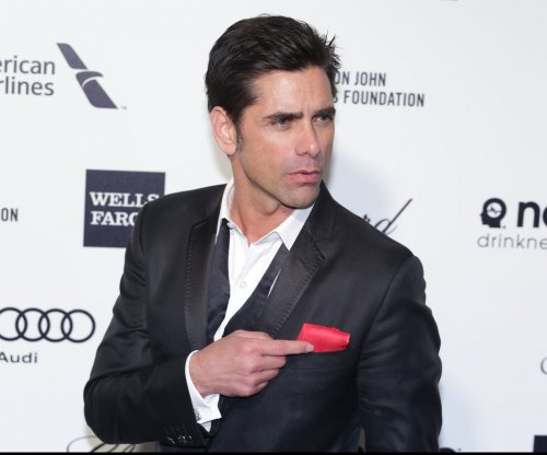 John Stamos shares image from the 'Fuller House' set