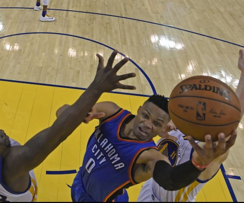 Russell Westbrook's 32nd triple-double leads Oklahoma City Thunder over Utah Jazz