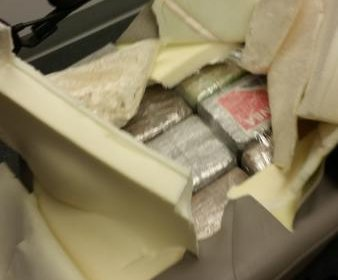 Customs officers find 27 pounds of cocaine in wheelchair