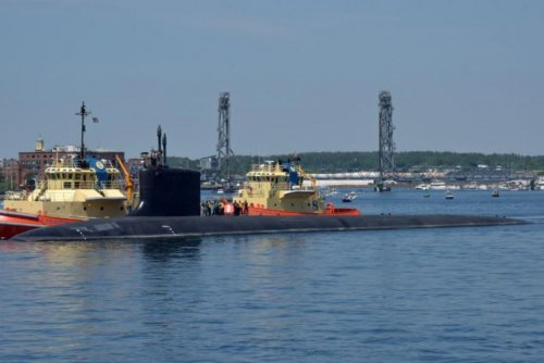 Maintenance on USS California sub completed in record time