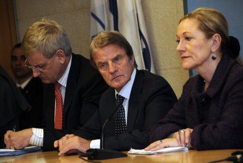 Israelis said surprised at Bildt's absence