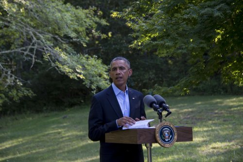 Obama reacts to criticism of policy on Syria