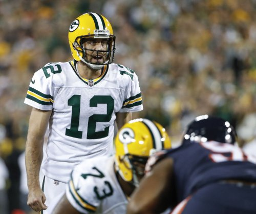 Aaron Rodgers was pretending to be the Cleveland Browns QB this week at practice