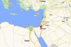 Missile lands in Negev Desert as Israel, Syria exchange fire