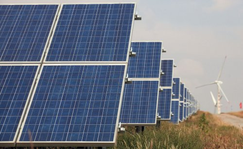 New solar facility inaugurated for France
