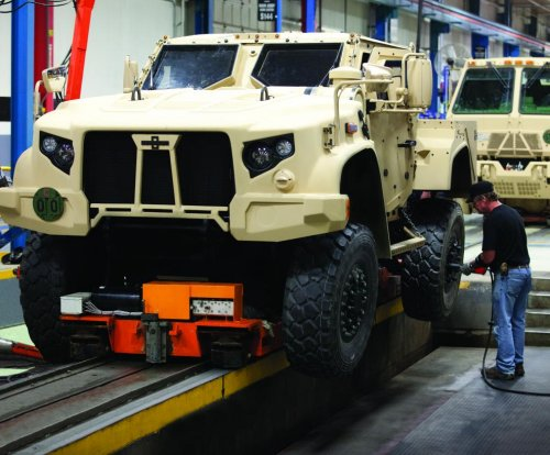 Oshkosh showcases JLTV at Special Ops exhibition