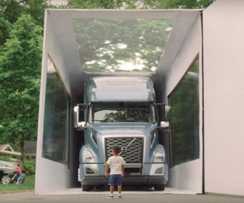 3-year-old opens up semi-truck in world's largest unboxing