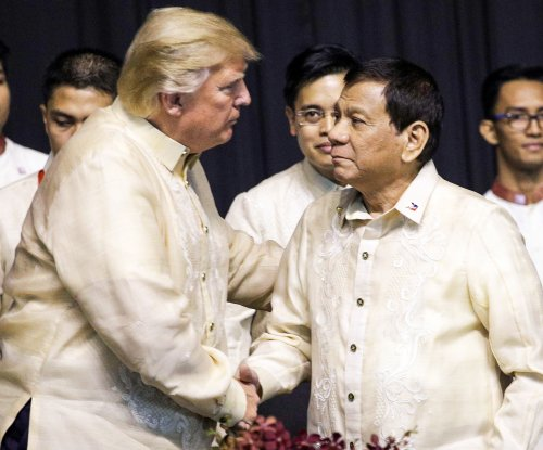 Trump boasts 'great relationship' with Duterte at start of ASEAN summit