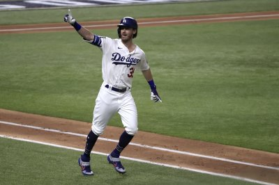 World Series: Kershaw, Bellinger guide Dodgers to Game 1 win over Rays