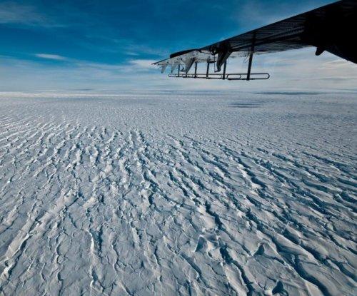 Ice shelf disintegration accelerating Pine Island Glacier descent toward sea