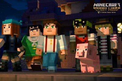 Corey Feldman, Paul Reubens, Patton Oswalt lend voices to 'Minecraft: Story Mode' characters