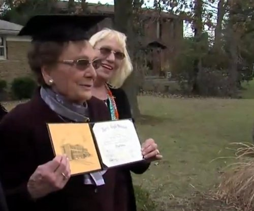 Ohio woman receives high school diploma for 93rd birthday