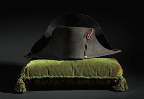 Napoleon's iconic hat sells for $2.5M at auction