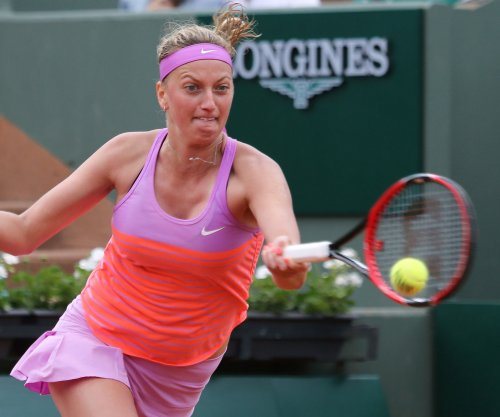 Kvitova easily advances; Halep, Bouchard vanquished at Wimbeldon