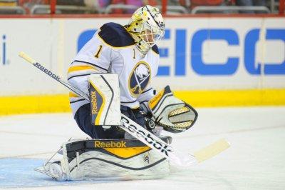Anaheim Ducks acquire G Jhonas Enroth from Toronto Maple Leafs