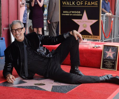 Jeff Goldblum gets star on the Hollywood Walk of Fame