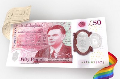 Bank of England unveils new £50 with WWII codebreaker Alan Turing