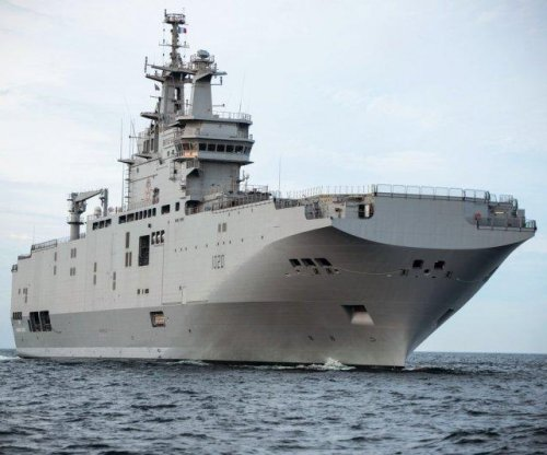 Egyptian Navy receives second Mistral helicopter carrier