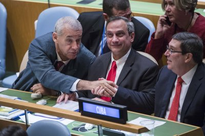 U.S. abstains from U.N. vote on Cuban embargo for the first time